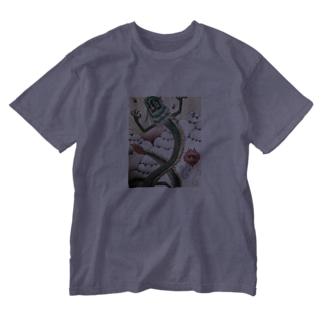 昇り龍 Washed T-shirts