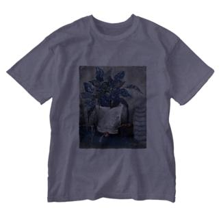 不幸中の幸いおようふく Washed T-shirts
