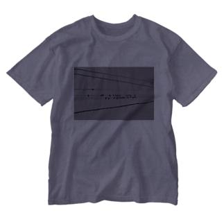 おんぷとりたち Washed T-shirts