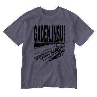 ガードレール跨ぎおじいちゃん Washed T-shirts