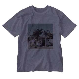 ビーチサイドハウス Washed T-shirts