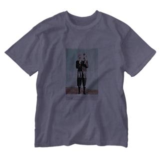 OWAYON ∞ (オワヨン インフィニティ)の【PRESS MY SWICH】 Washed T-Shirt