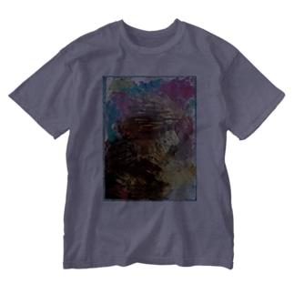 君の手からキモチ。 Washed T-shirts