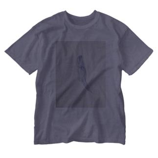 幽霊。佐藤鳳水作 Washed T-shirts