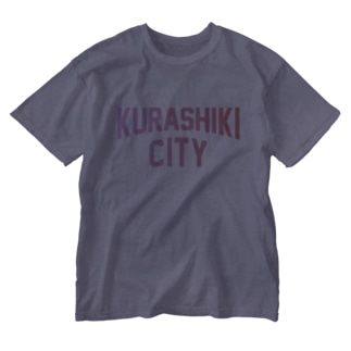 倉敷市 KURASHIKI CITY Washed T-shirts
