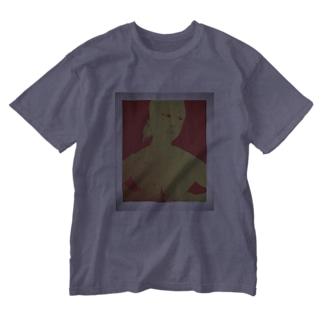 手ぶら Washed T-shirts