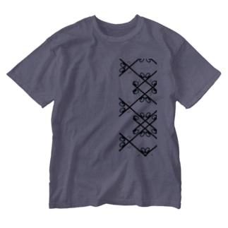景色の宝石 Washed T-shirts