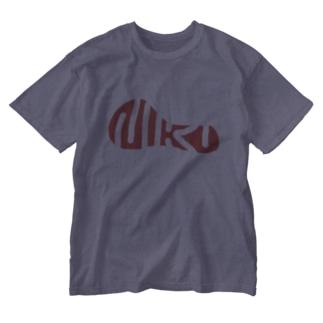 NIKU  赤身 Washed T-shirts