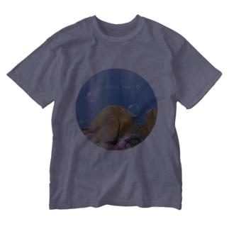 国東おしり岩 Washed T-shirts