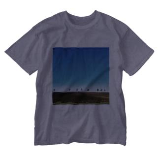 道の駅メルヘンの丘女満別 Washed T-shirts