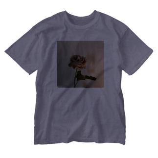 最後の薔薇 Washed T-shirts