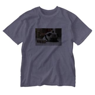 インドバラナシ4689coffeeしーちゃん Washed T-shirts