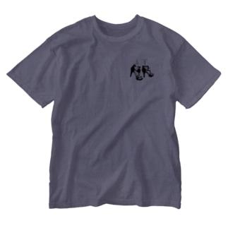 ヒール Washed T-shirts