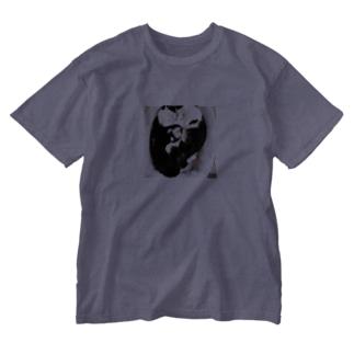 sakoのココ&ナナ Washed T-shirts
