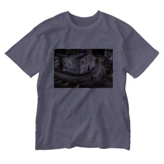 道後温泉 Washed T-shirts