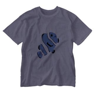 カクレクマノミ Washed T-shirts