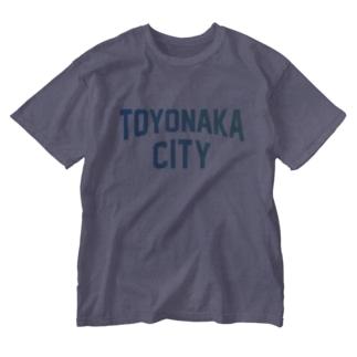 豊中市 TOYONAKA CITY Washed T-shirts