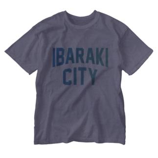 茨木市 IBARAKI CITY Washed T-shirts