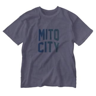 水戸市 MITO CITY Washed T-shirts