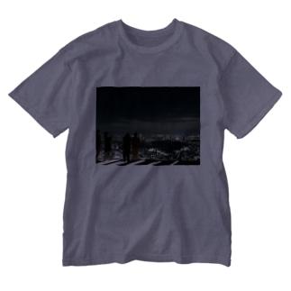 最上階 Washed T-shirts