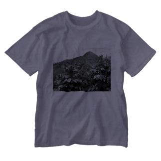雪山 Washed T-shirts