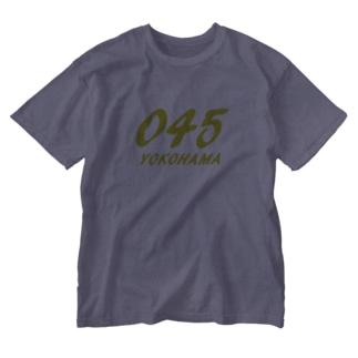 YOKOHAMA045グッズ Washed T-shirts