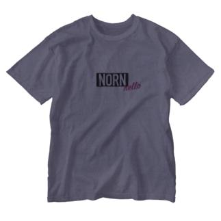 ノルン 北欧神話 Washed T-shirts