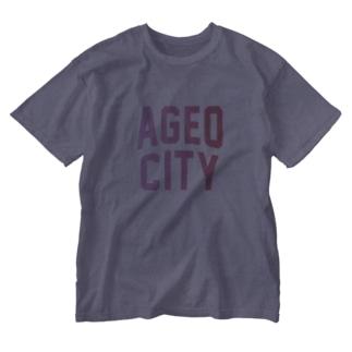 上尾市 AGEO CITY Washed T-shirts