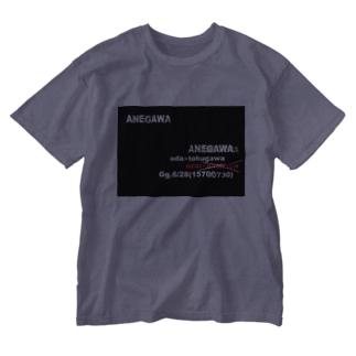 姉川スタイリッシュ Washed T-shirts