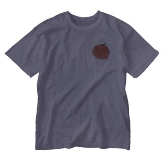 ほまる画伯のみかん Washed T-shirts