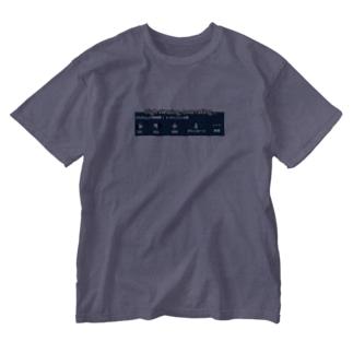 高再生、低評価 Washed T-shirts