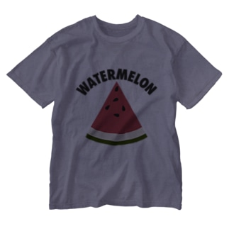 WATERMELON 扇形 Washed T-shirts