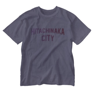 ひたちなか市 HITACHINAKA CITY Washed T-shirts