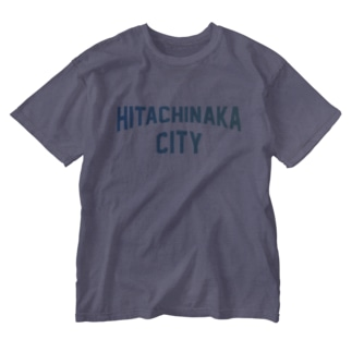 ひたちなか市 HITACHINAKA CITY Washed T-shirts