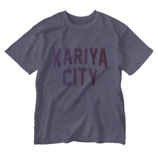 刈谷市 KARIYA CITY Washed T-shirts