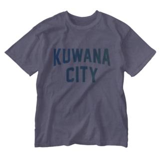 桑名市 KUWANA CITY Washed T-shirts