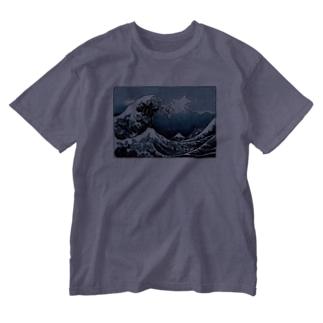 GILTACC -大波を乗り越える7つの徳 Washed T-shirts