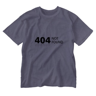 404 NOT found Washed T-shirts
