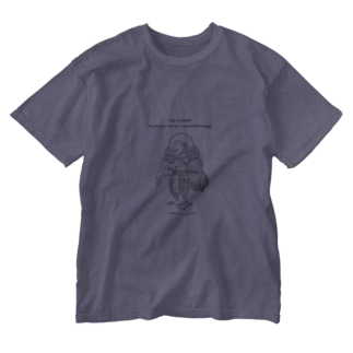 迦楼羅神_ Washed T-shirts