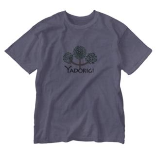 夫婦林業「ヤドリギ」オリジナルグッズ Washed T-shirts