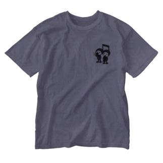 仲良しおんぷちゃん Washed T-shirts