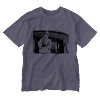 ぷはぁっ Washed T-shirts