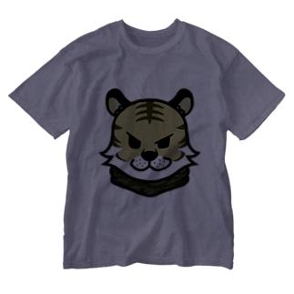 サバとら君  Washed T-shirts