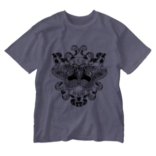 エコバグ黒 Washed T-shirts