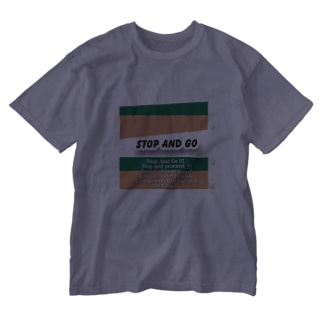 Stop and Go Washed T-shirts