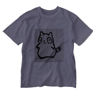 キキキたぬき。 Washed T-shirts