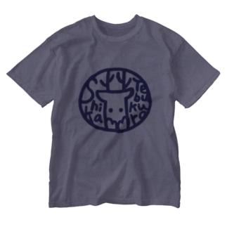 ニューシカテTシャツ Washed T-shirts