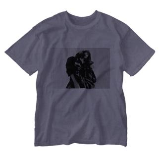 愛デザイニングWORLD Washed T-shirts