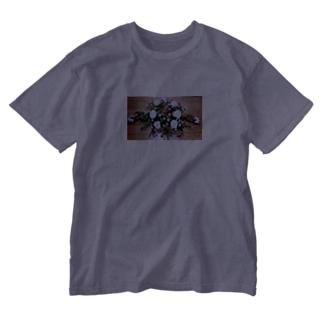 ソフィフラワー Washed T-shirts