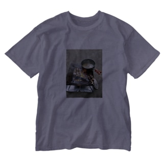 ばるキャン△ Washed T-shirts